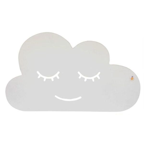 Wandlamp wolk - met afstandsbediening