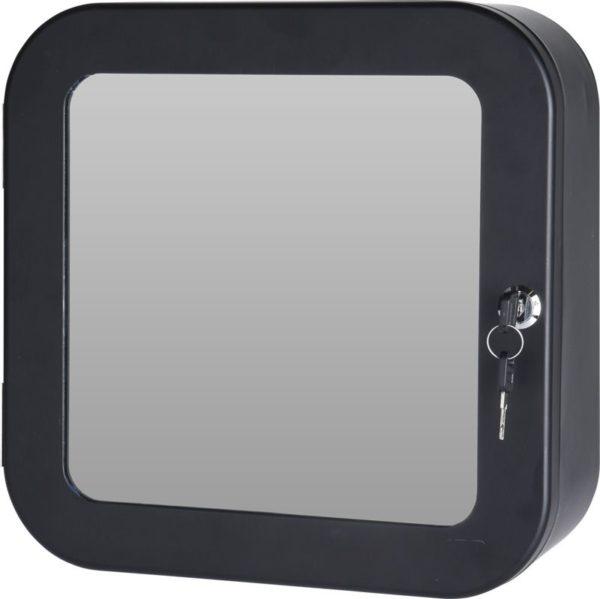 Medicijnkastje met spiegel - zwart