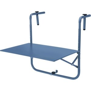 Balkontafel 60x43cm - mat blauw