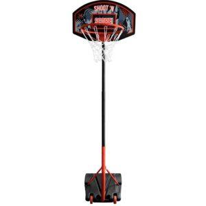 Basketbal standaard - in hoogte verstelbaar - verrijdbaar