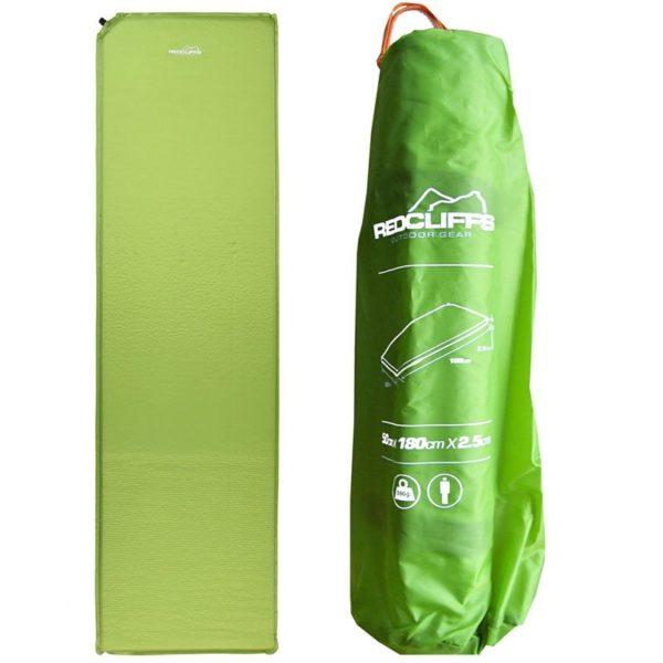 Matras Zelfopblaasbaar - groen