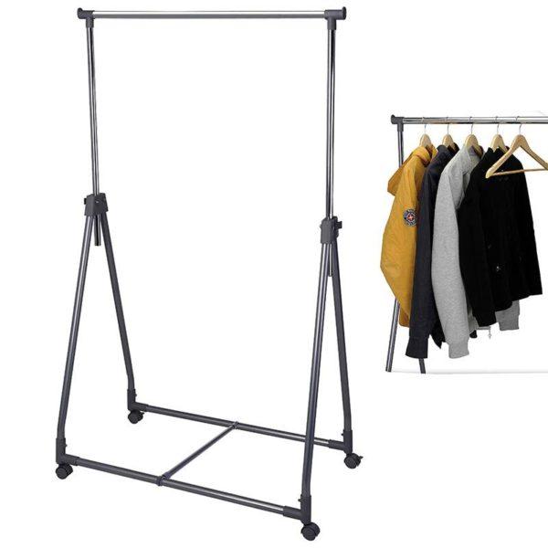 Verrijdbaar kledingrek  93x54x170cm