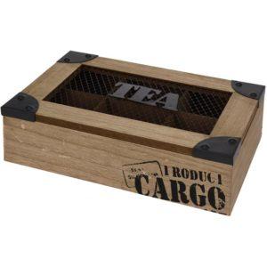 Theekist 6 vaks - Cargo