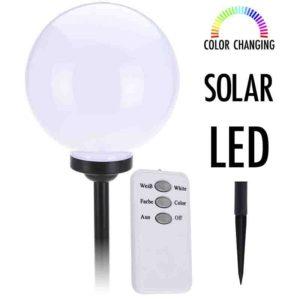 Solarlamp kleurveranderend
