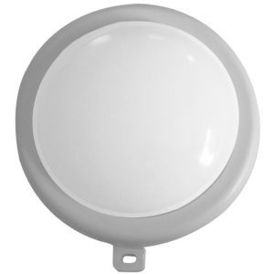 LED Buitenlamp rond - wit - 6W