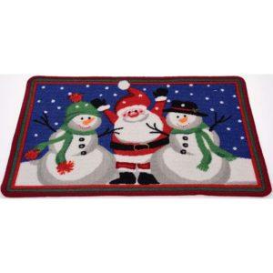 Kerst Deurmat Snowfun 60x40 cm