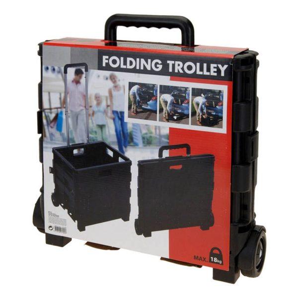 Trolley met vouwkrat