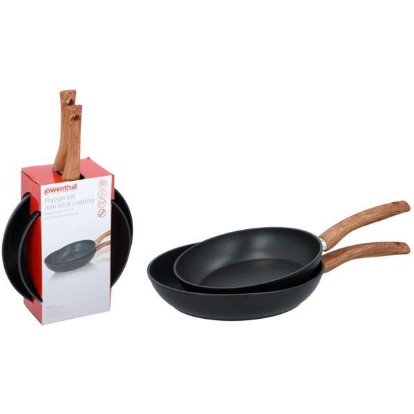 Koekenpannen - 2 stuks - 24 en 28 cm