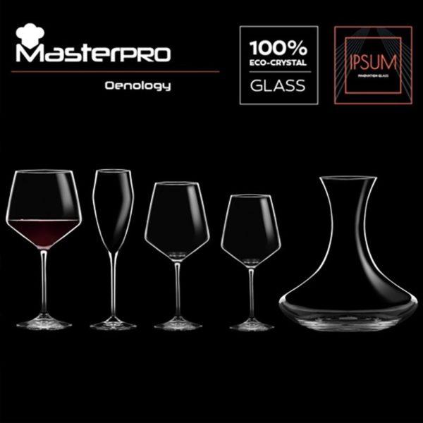 Masterpro Wijnkaraf 2.0 L- Kristalglas