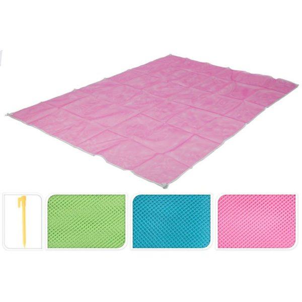 Zandvrije Strandmat - pink
