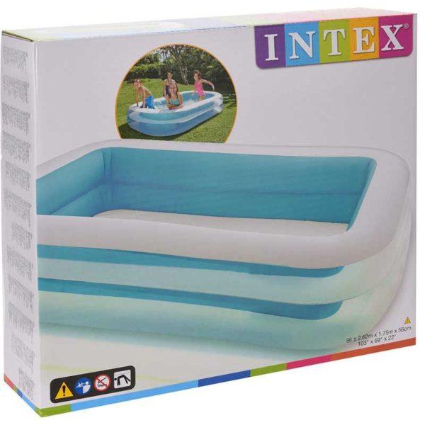 Intex Zwembad rechthoek - 262x175cm