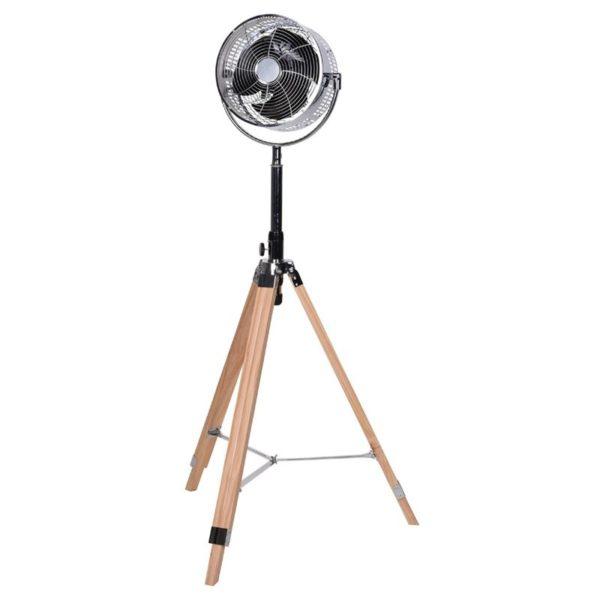 Statiefventilator  - hout - verstelbaar