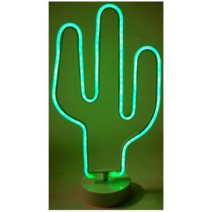 Decoratielamp cactus - 36cm