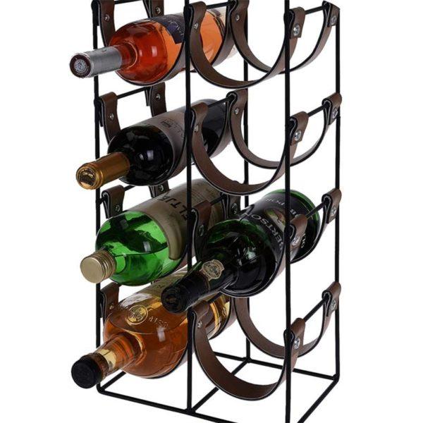 Trendy wijnrek voor 10 flessen