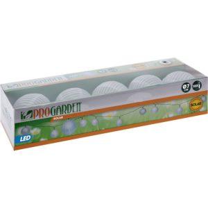 Solar LED lampionnen - 10 stuks wit