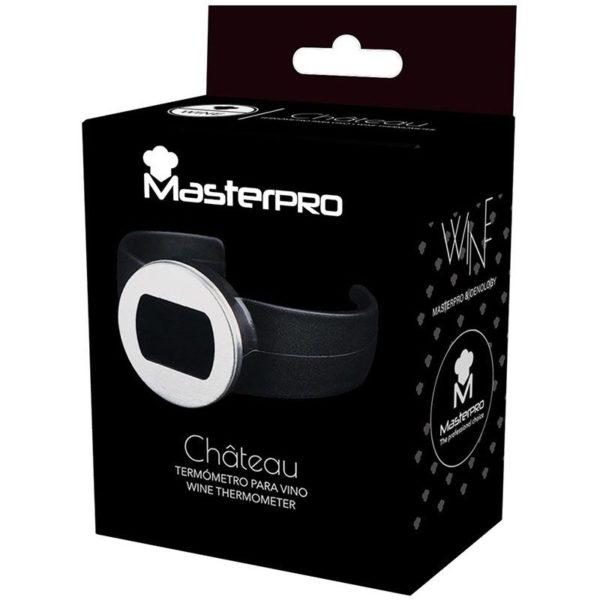 Masterpro Wijn thermometer RVS met LCD display