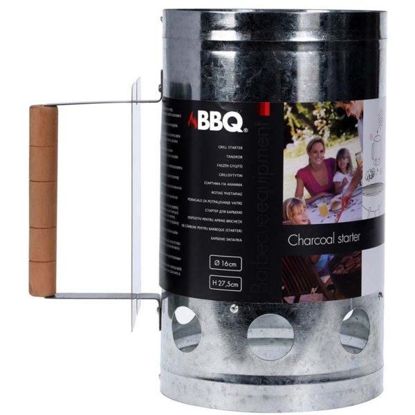 Houtskoolstarter Metaal - 27x16cm