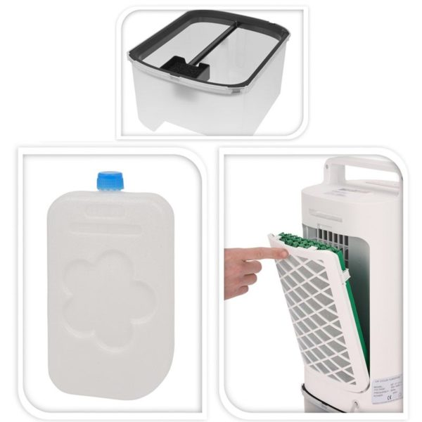 Mobiele Aircooler - met afstandsbediening