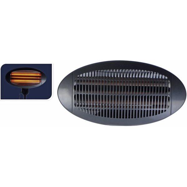 Excellent Electrics Terrasverwarmer, wandmodel