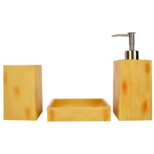 Bamboe badset - 3 delig