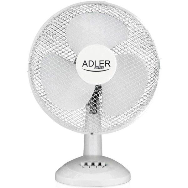 Adler AD7304 - Tafelventilator wit - 40cm