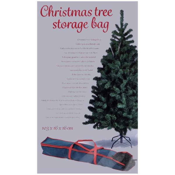 Opbergtas voor kerstboom 103x16x16cm