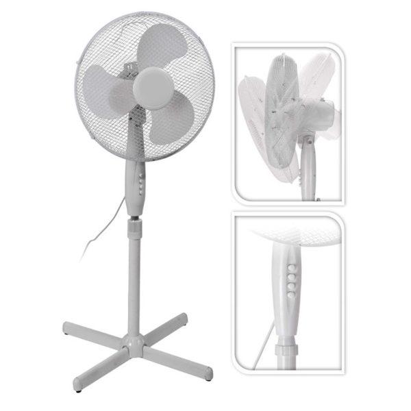 Staande ventilator - 40cm - 45W