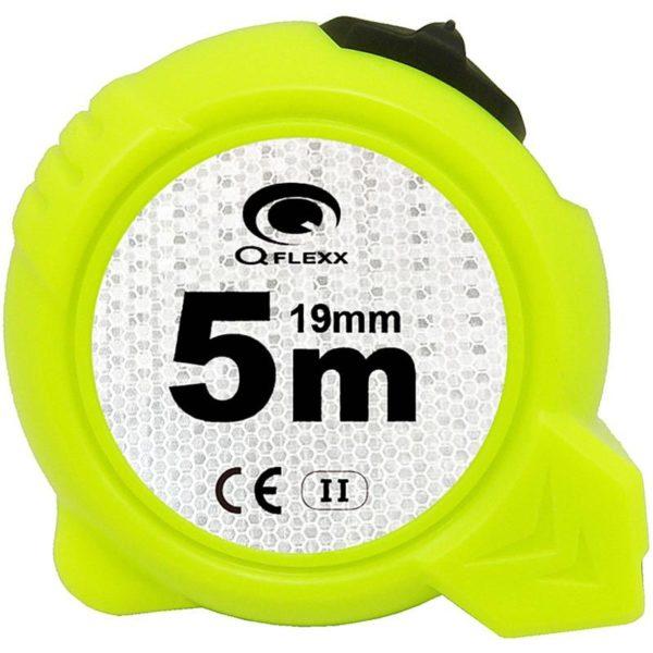 Q Flexx Rolbandmaat High-Viz 5 meter-19mm