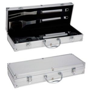 Barbecue gereedschapset in koffer