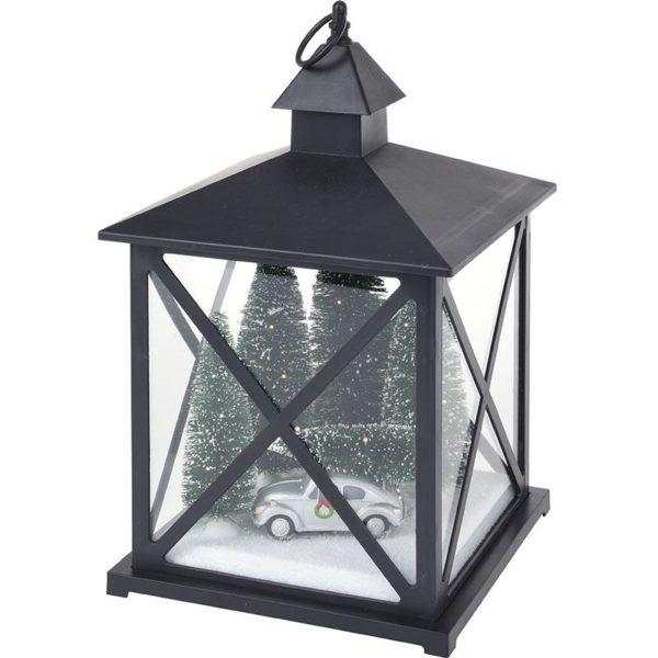 Kerstlantaarn 38cm - met licht