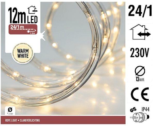 LED Lichtslang - 12 meter - warm wit