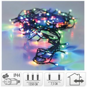 LED-verlichting - 180 LED's - 13.5 meter - multicolor