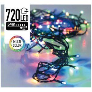 Kerstverlichting - 720 LED's - 54 meter - multicolor