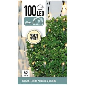 Buxus Netverlichting - 100 LED - warm wit