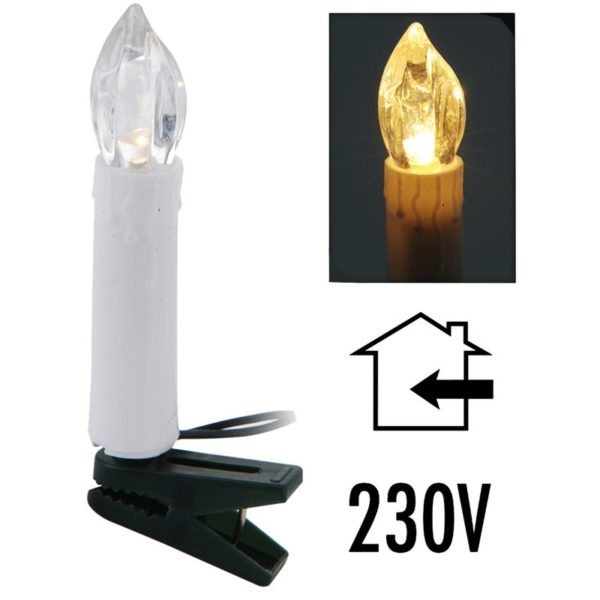 Kaarsverlichting 30 LED - warm wit