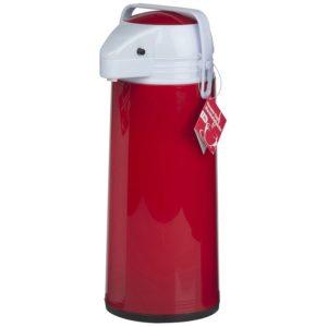 Thermoskan met pomp - 1.9 liter - Rood
