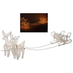 3D Rendieren met slee - 2 meter