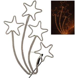 Kerststerren -Slangverlichting  - 72 cm